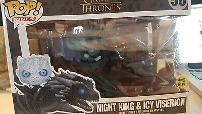 Funko pop Rides Game Of Thrones- 58 Night King and Icy Viserion