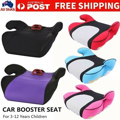 3-12 Years Car Booster Seat Chair Cushion Pad For Toddler Children Kids Sturdy