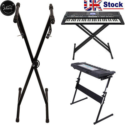 Electronic Piano X Stands Music Keyboard Standard Portable Rack Adjustable New