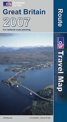 (Good)-Great Britain Route Map 2007 (Map)-Ordnance Survey-0319230864