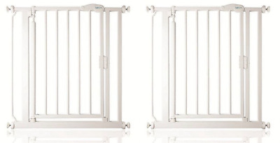 Safetots Extra Narrow Self Closing Baby Safety Gate Pressure Fit 61cm-66.5cm
