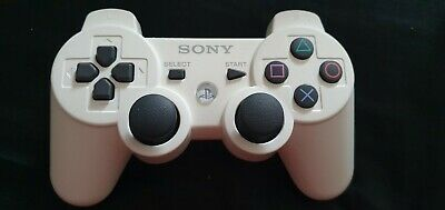 Genuine Official Sony DualShock 3 Wireless Controller for PlayStation 3 - White