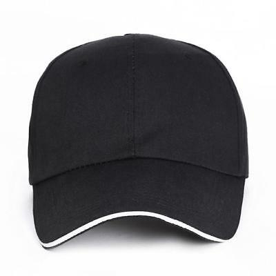 New Mens Classic Plain Adjustable Baseball Caps - WORK CASUAL SPORTS LEISURE SU