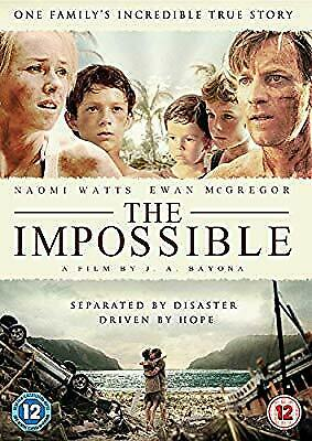 The Impossible [DVD] [2013], , Used; Very Good DVD