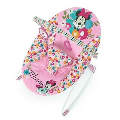 Bright Starts Disney Baby Minnie Mouse Bouncer Seat- Perfect in Pink