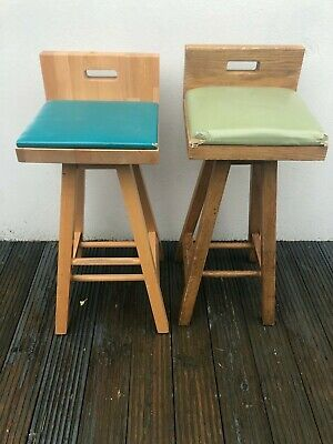 Bar stools Pub Breakfast Bar Stool Pub Restaurant Barber Solid Oak Wood Chairs