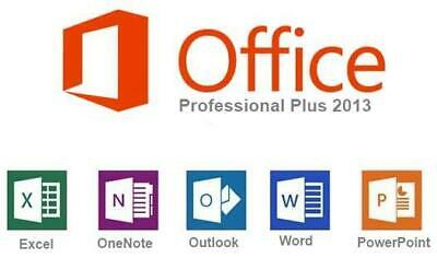 Microsoft Office 2019 Professional Plus - 32/64 Bit - Genuine - Fast Delivery