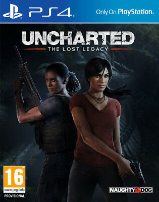 Uncharted Lost Legacy PS4 - Game for Sony PlayStation 4 NEW SEALED