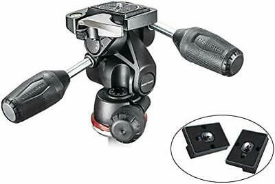 Manfrotto MH804-3W 3 Way head with Two Replacement Quick Release Plates