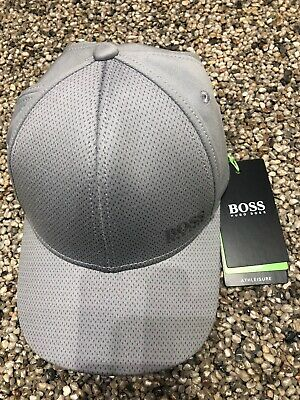 Hugo Boss Grey Small Logo Snapback Cap BNWT £59.95