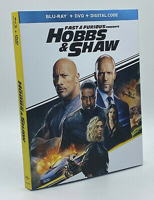 Fast & Furious presents Hobbs & Shaw [2019] Blu-ray+DVD+Digital with Slipcover