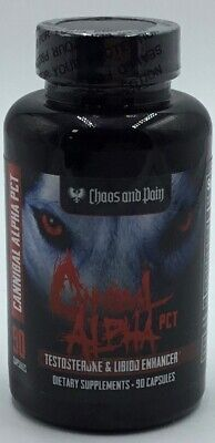 Cannibal Alpha PCT- Chaos and Pain- 90 Capsules