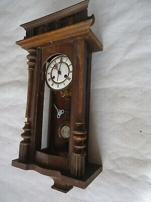 Antique Venetian Chiming Wall Clock. Spares Or Repair