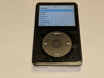 Apple iPod Classic 5th Generation A1136 30GB Black MP3 Music Player *Working*