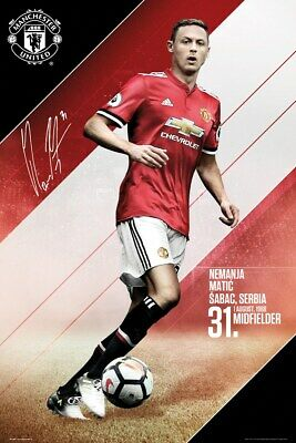 MANCHESTER UNITED Players 18-19 Maxi Poster Print 61x91.5cm 24x36 inches SP1559
