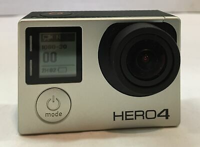 GoPro Hero 4 Silver Mini Action Camera Camcorder CHDHY-401 Works Great!