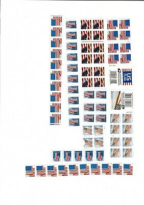 100 U.S. Forever Stamps - various flags - $39.00 ($55.00 value)