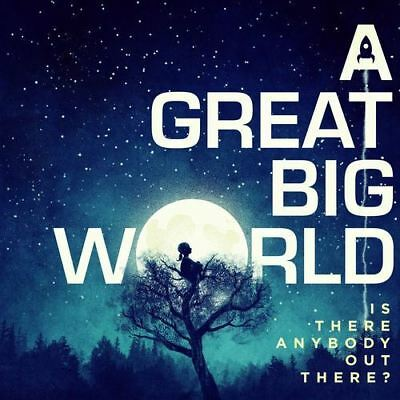 A Great Big World - Is There Anybody Out there? - New CD - Damaged Case