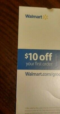 $10 Off First Order Grocery Pickup @ Walmart