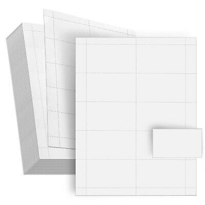 100 Sheets-Blank Business Card Paper - 1000 Business Card Stock for Printers