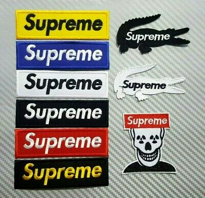 SKATEBOARD SPORTS BIKER EXTREME HEAVY BADGE VANS Embroidered Patch Iron Sew Logo