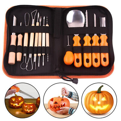 Halloween Thanksgiving Pumpkin Carving Tool Kit Carving Cutters Modelling Sculpt