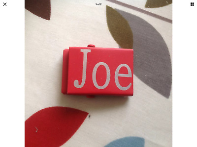 Childrens Personalised Belt Buckle (Joe) In Good Clean Working Condition