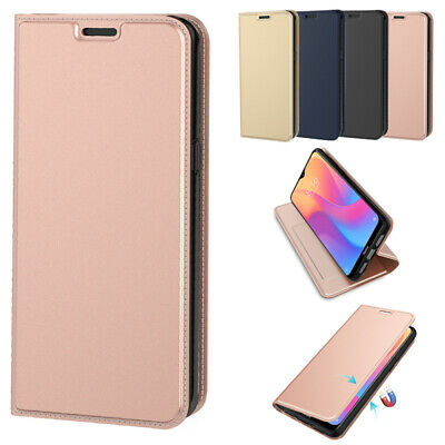 For Xiaomi Redmi 8 8A PU Leather housse Étui Anti-choc Protector Shell Card Slot