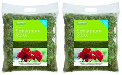 Gardman Fresh Sphagnum Moss In Jumbo Pack UK POST FREE