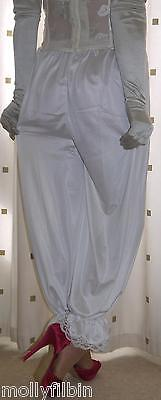 Vintage inspired Victorian~Edwardian style white bloomers~culottes