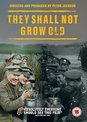 They Shall Not Grow Old DVD 2018