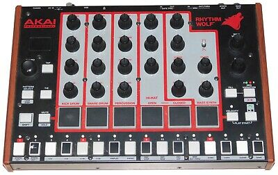 AKAI Professional Rhythm Wolf Analog Drum Machine & Bass Synthesizer ~ UN-TESTED
