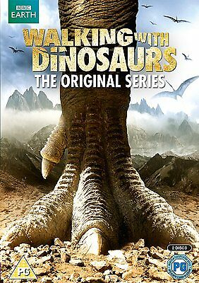 Walking with Dinosaurs  BBC Original Series DVD   New!