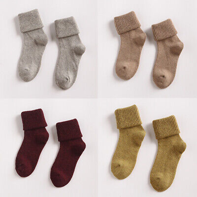 Gifts Soft Sock Womens 90/% Lady Wool Socks Winter Casual Cashmere Xmas Thermal