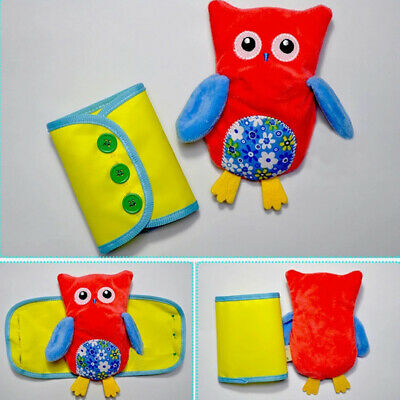 4pcs Set Materials Early Educational Toys for Learning Dressing Soft Fabric Gift