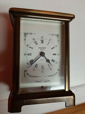 Vintage French Bayard Carriage Clock - Duverdrey & Bloquel Movement