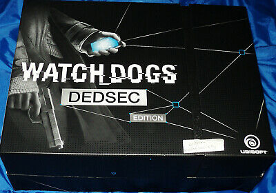 watch dogs, dedsec edition, playstation 4, ps4 game, complete, boxed, vgc