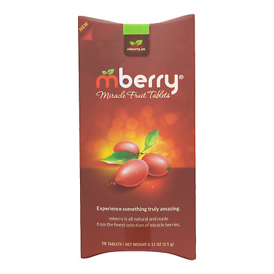 mberry Miracle Berry Tablets   Single Pack (10 Tablets)
