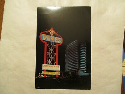 Las Vegas Nevada the Dunes Country Club Continental Postcard