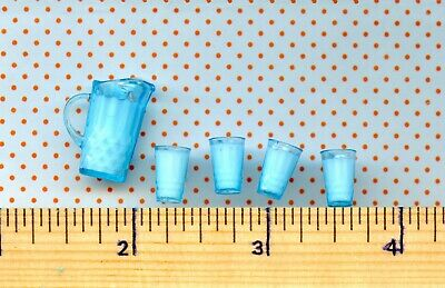 Filled with Resin MILK DOLLHOUSE 1//12 Miniature Wooden Bucket w//Rope Handle