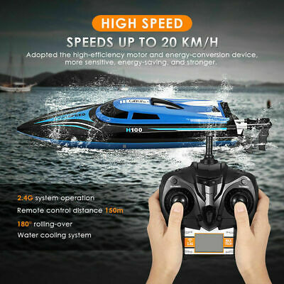Skytech H100 2.4G Remote Controlled 180° Flip 20KM/H High Speed RC Boat L7A9