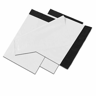 10x13 White Poly Mailers Shipping Envelopes Self Sealing Plastic Mailing Bags