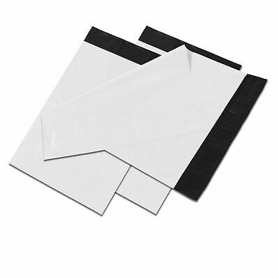 12x15.5 White Poly Mailers Shipping Envelopes Self Sealing Plastic Mailing Bags