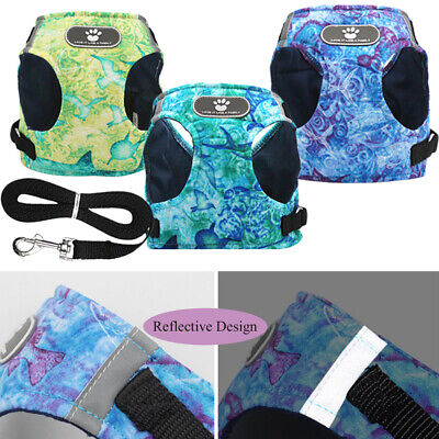 Walk Leash Cotton Puppy Vest Chest Strap Dog Harness Collar Pet Traction Rope