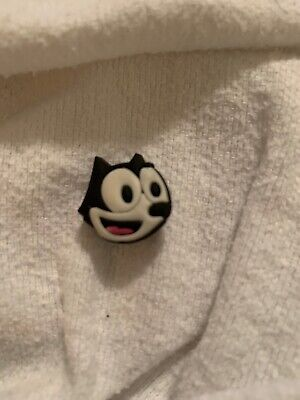 Crocs Shoe Charm Felix The Cat NWOT Unbranded
