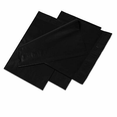 9x12 Black Poly Mailers Shipping Envelopes Self Sealing Plastic Mailing Bags