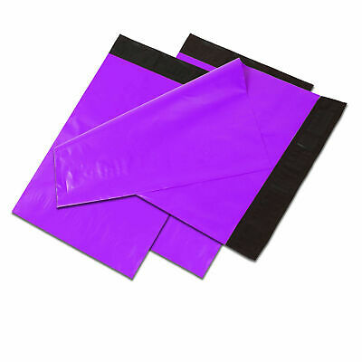 10x13 Purple Poly Mailers Shipping Envelopes Self Sealing Plastic Mailing Bags