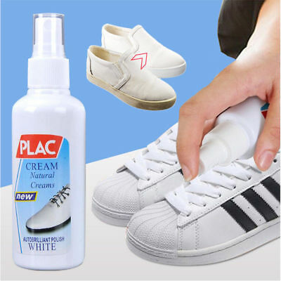 100ml Magic White Shoes Cleaner Refreshed Cleaning Polish Tool For Shoes