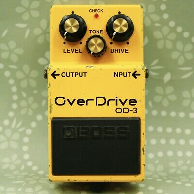 BOSS OD-3 Over Drive effect pedal Free shipping From Japan (BL81164)
