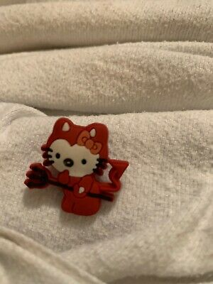Crocs Shoe Charms Hello Kitty Devil Outfit Halloween NWOT Unbranded